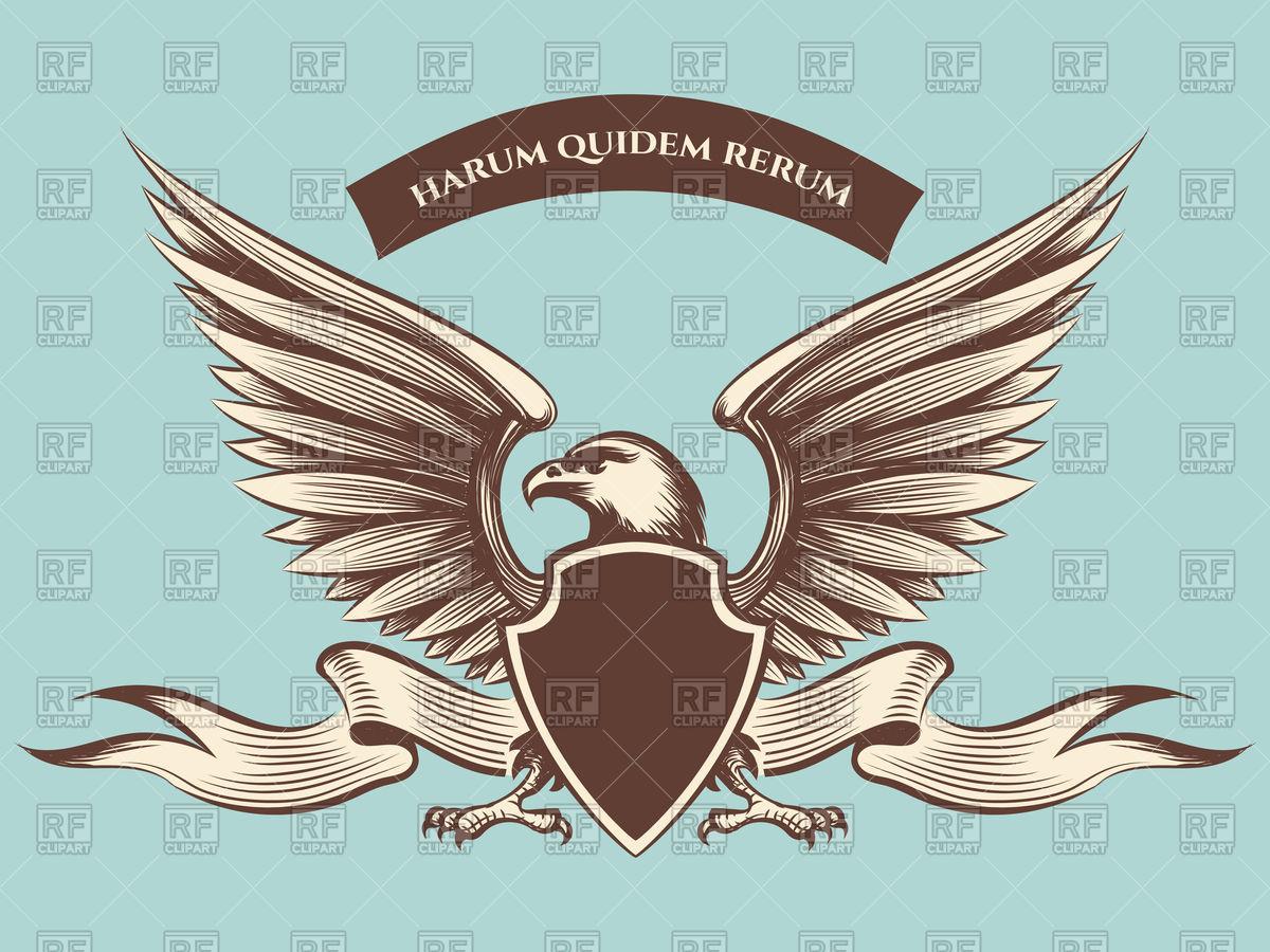 1200x900 Vintage American Eagle Mascot Icon Vector Image Vector Artwork