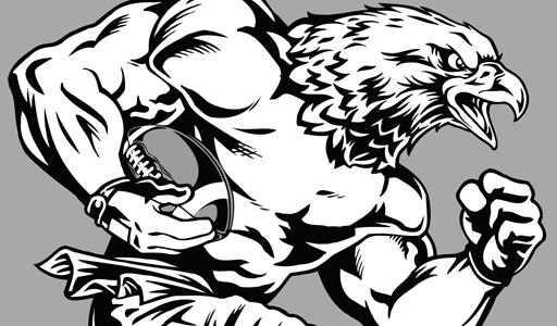 512x300 Clip Art School Mascots Eagles Clipart