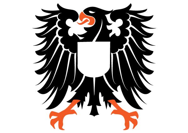 600x425 Heraldic Eagle Vector Image Free Heraldry Vectors