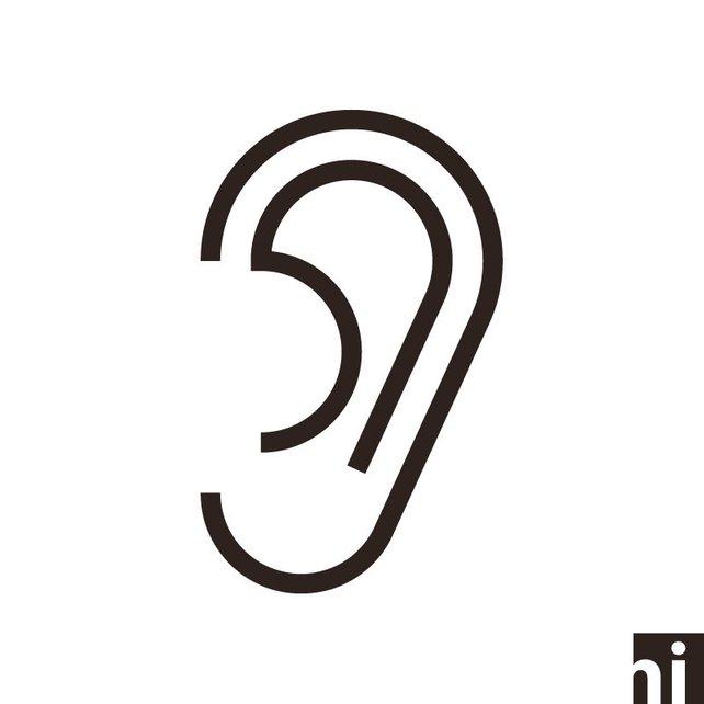642x642 Head Svg Ear Svg Head Icon Ear Icon Head Vector Ear Etsy