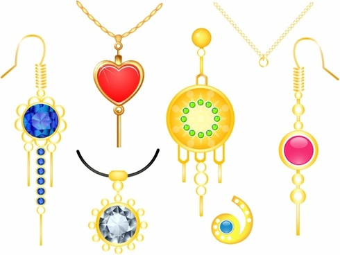 490x368 Earring Vector Free Vector Download (105 Free Vector) For