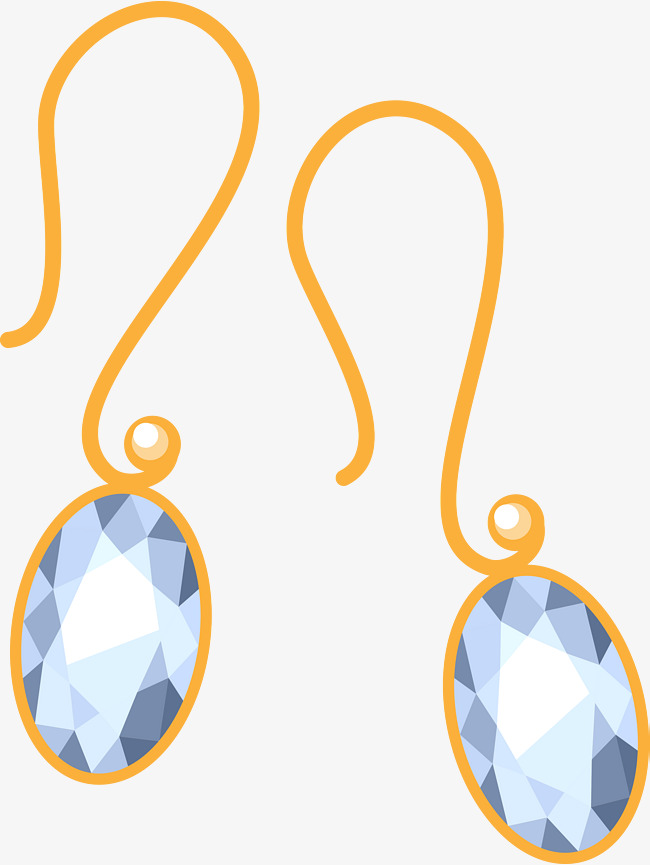 650x865 Gold Earring Jewelry, Gold Vector, Jewelry Vector, Crystal Png And