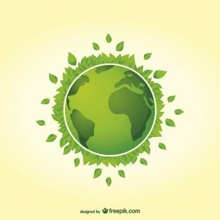 318x318 Earth Day Green Planet Vector Ecologie Planet