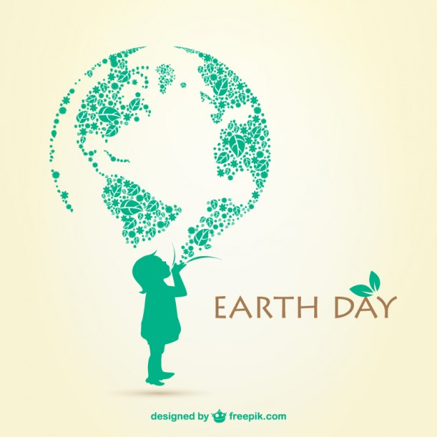 626x626 Earth Day Illustration Vector Free Download