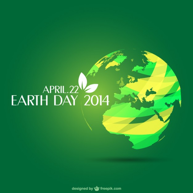626x626 Earth Day Template Vector Free Download