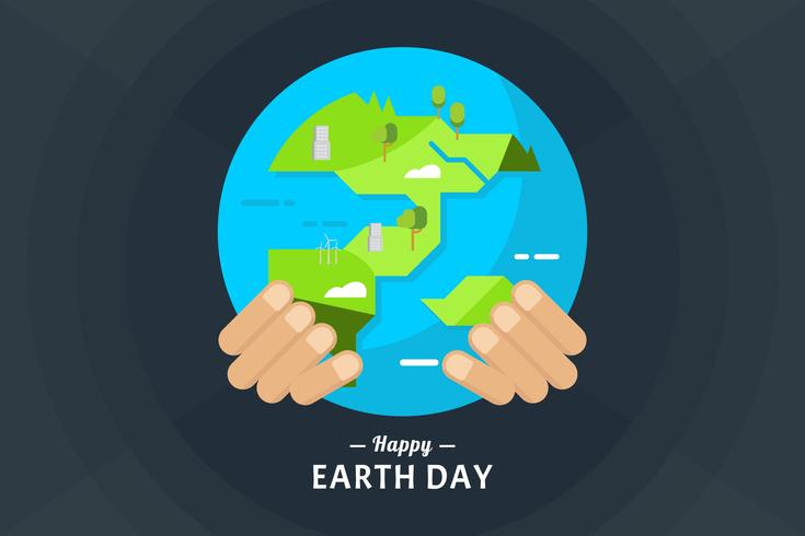 735x490 Earth Day Vector