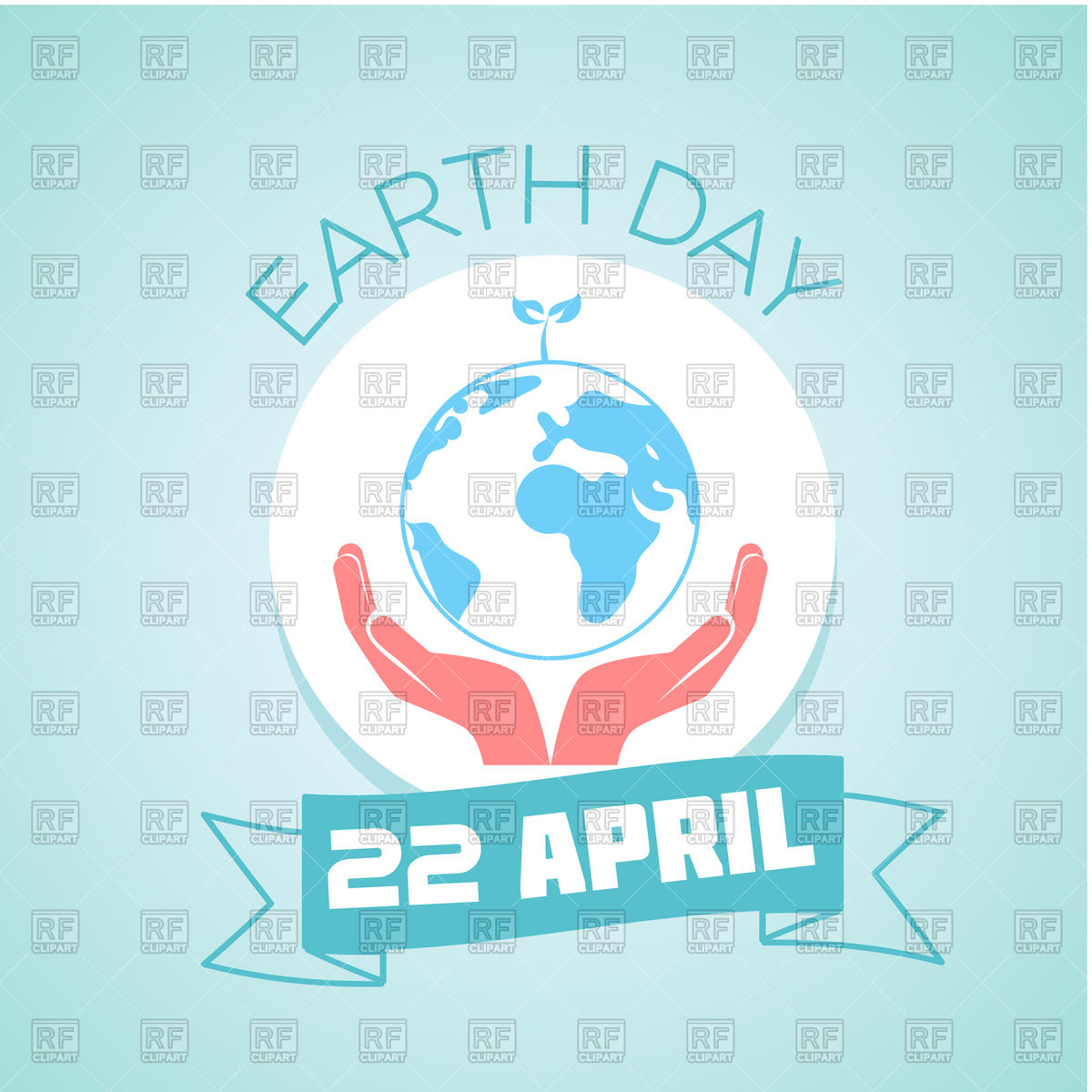 1200x1200 Illustration Of Earth Day Vector Image Vector Artwork Of Signs
