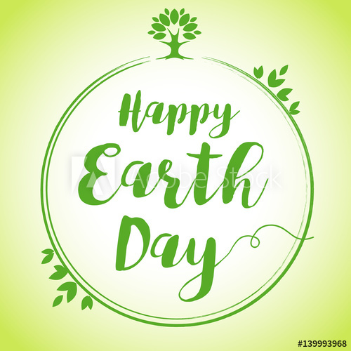 500x500 World Environment Day Vector Background, Save The Earth. Happy