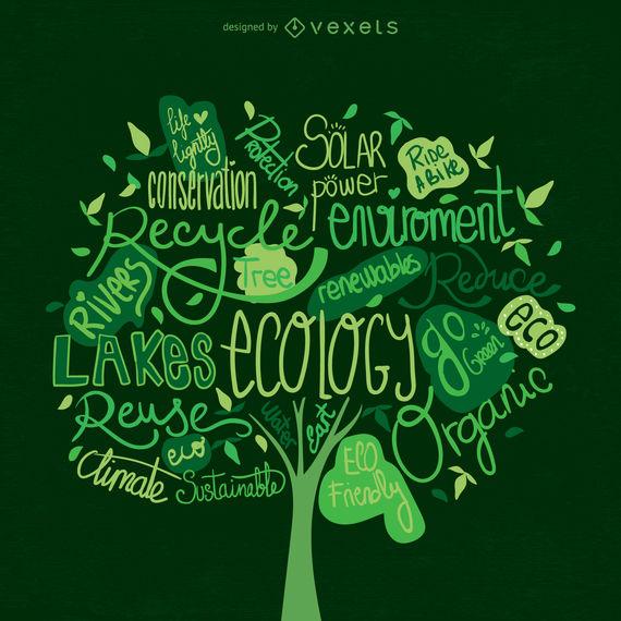 570x570 Earth Day Tree Vector