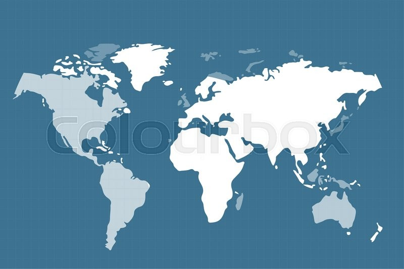 800x533 World Vector Map. Globe Earth Texture Map. Globe Vector Map View