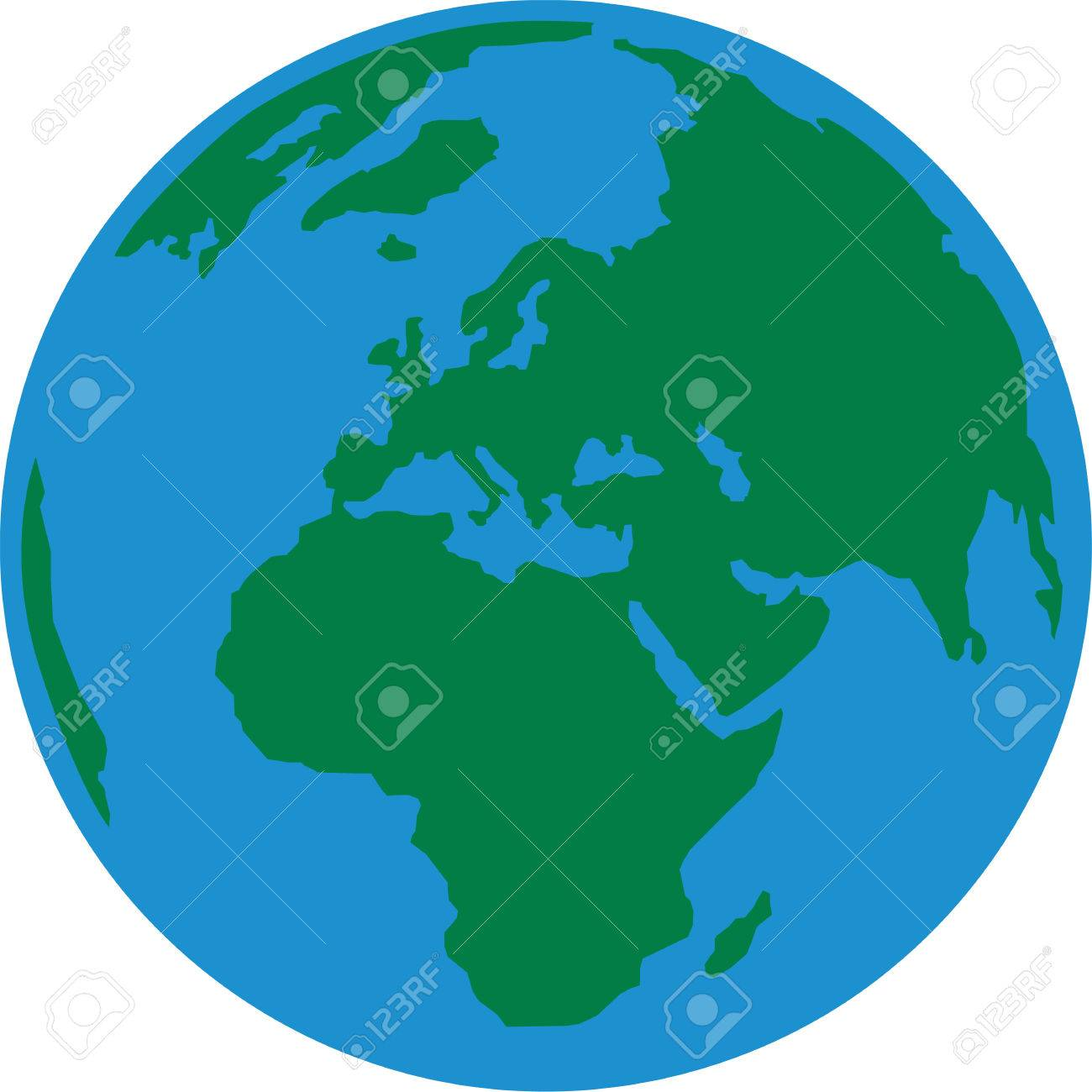 1300x1300 Europe Clipart Earth Planet ~ Frames ~ Illustrations ~ Hd Images