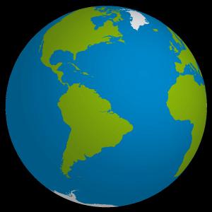 300x300 Planet Earth 3d Illustration Vector