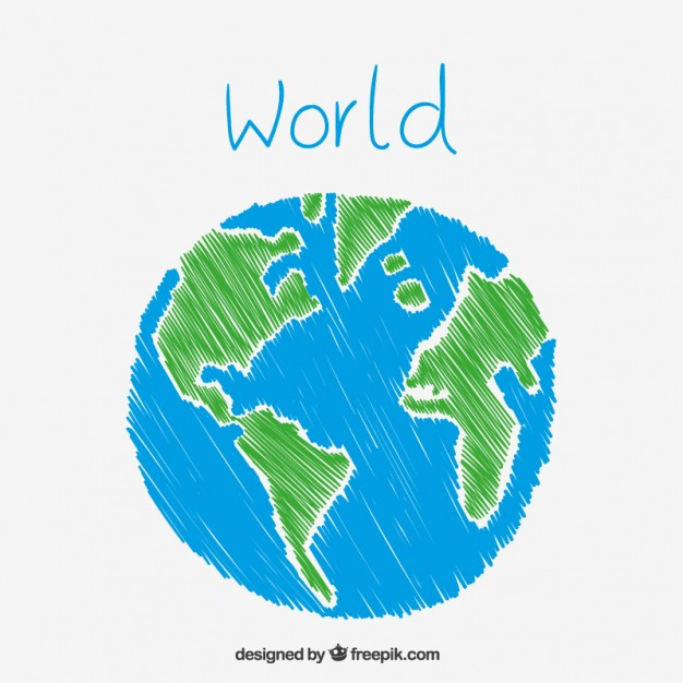 Earth Illustration Vector Free At Getdrawings Com Free For