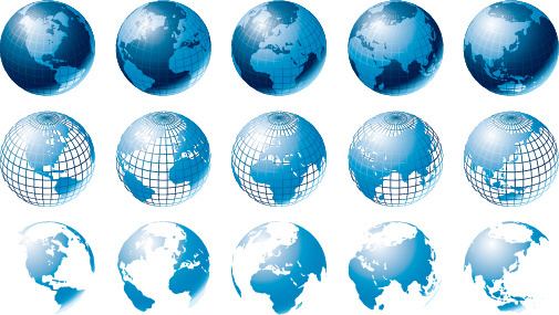 505x285 Watercolor And Earth Map Vector Free Vector In Adobe Illustrator