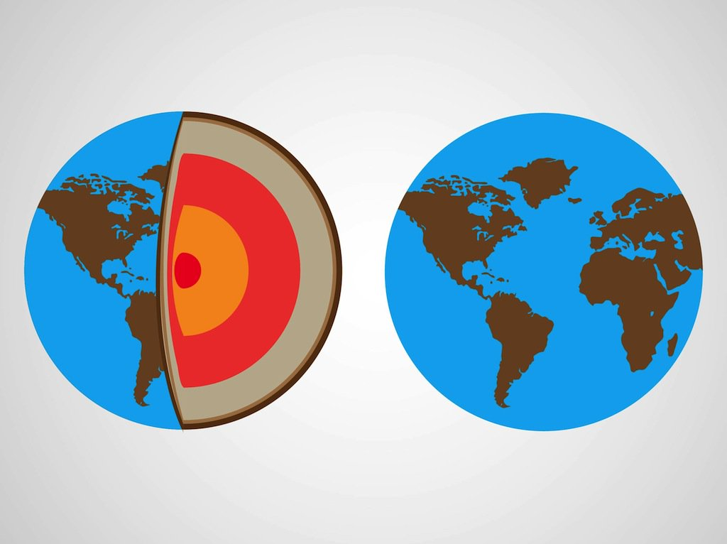 1024x766 Planet Earth Vector Vector Art Amp Graphics