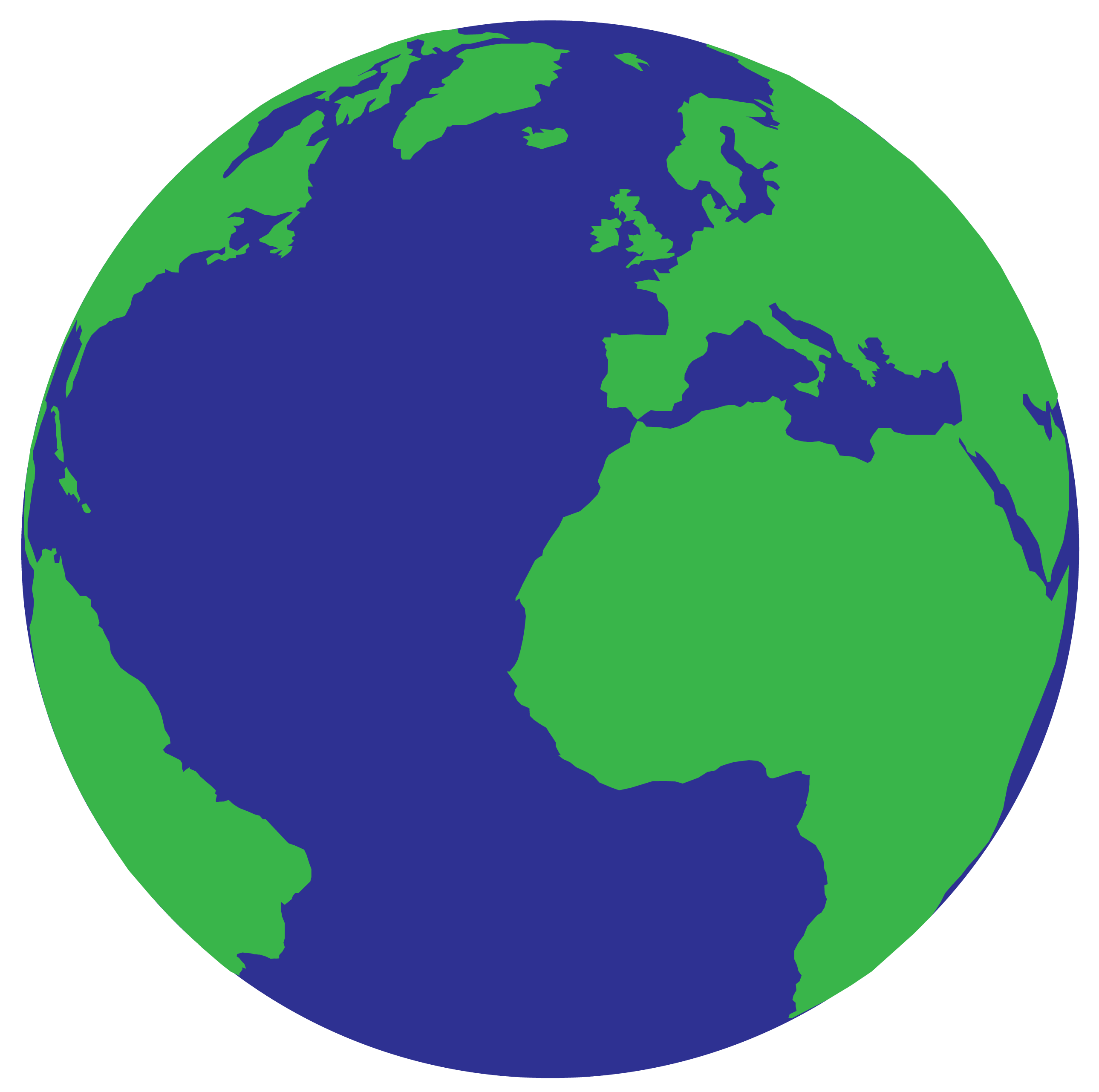 Earth Vector Graphic