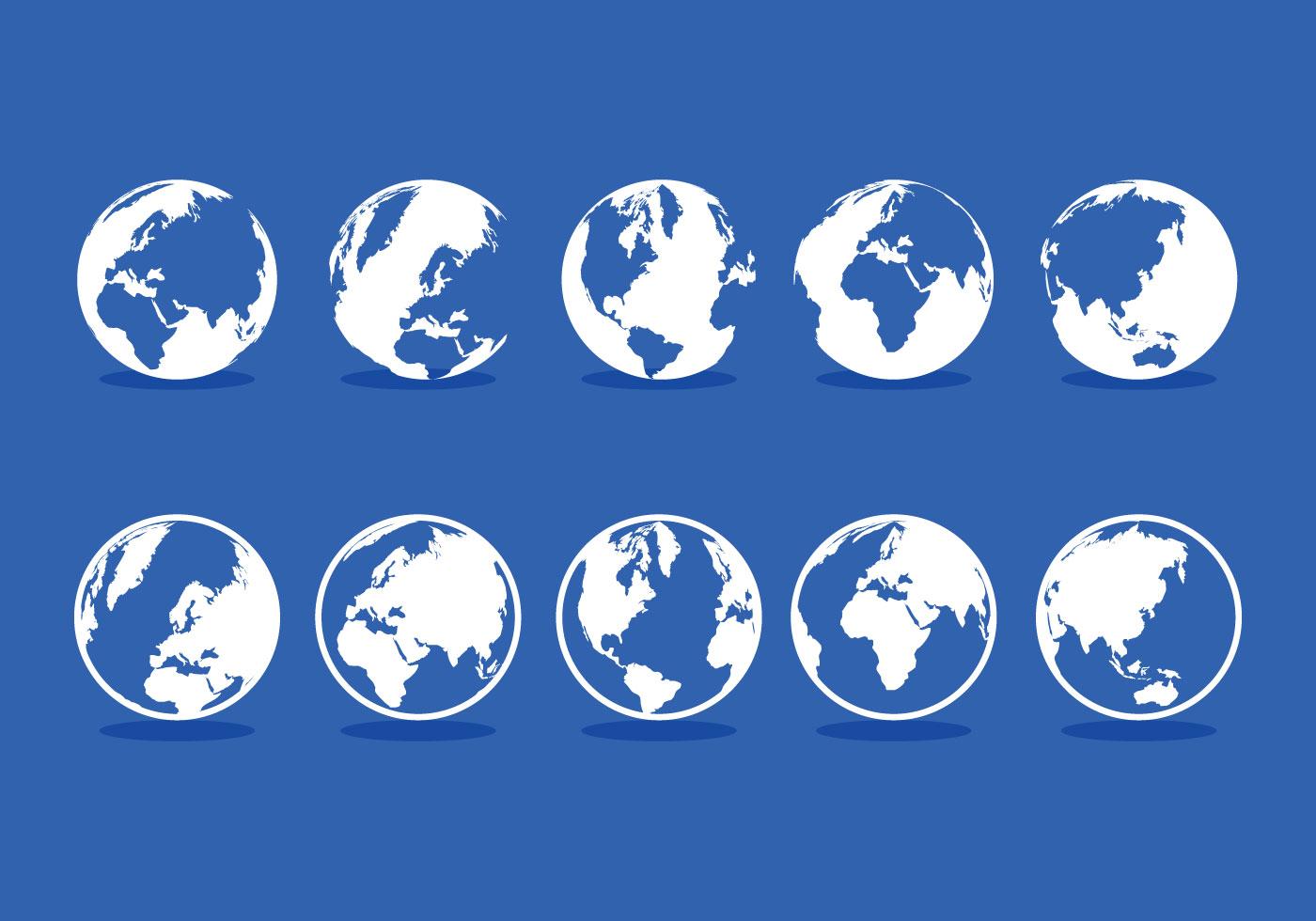 1400x980 Earth Free Vector Art