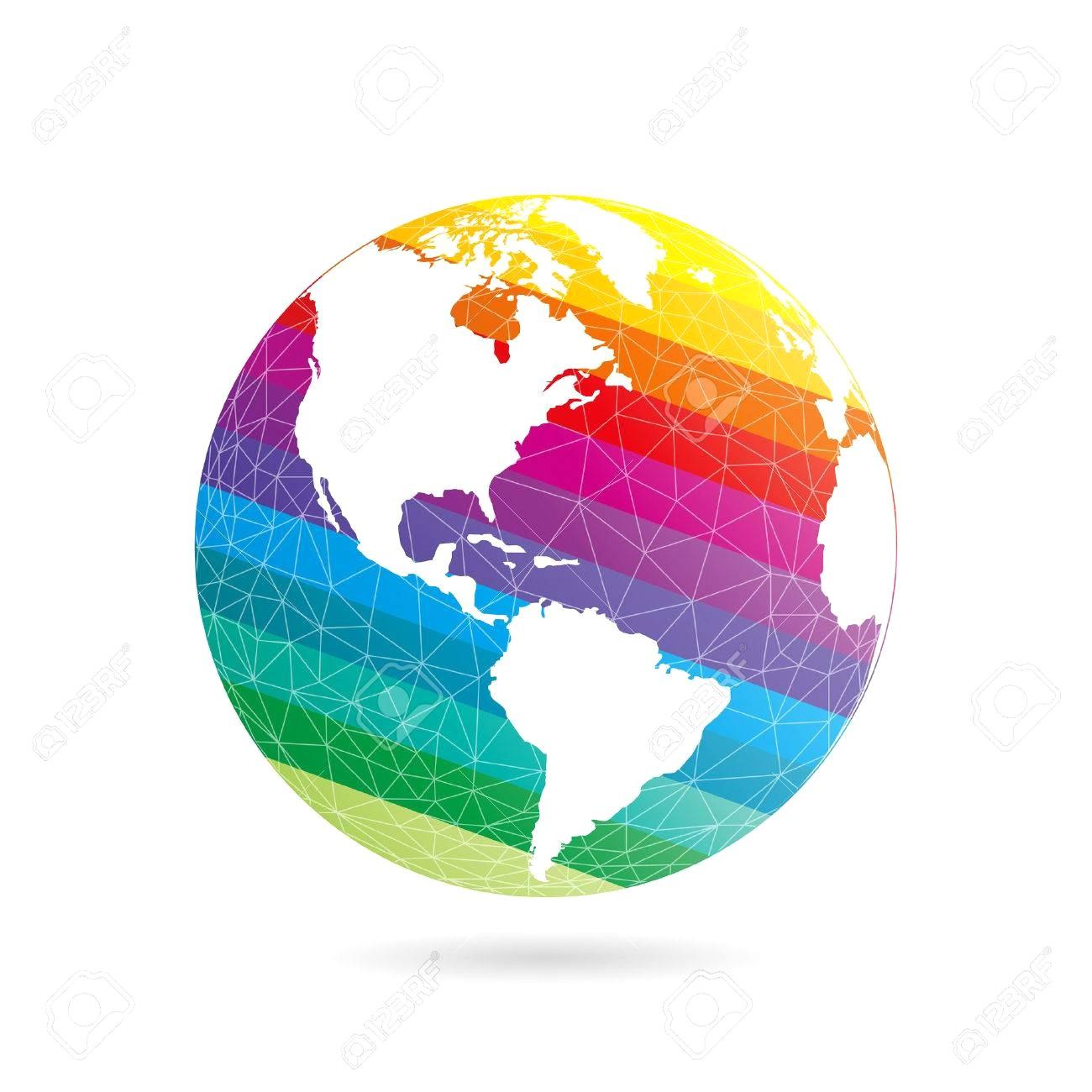 1300x1300 Globe Earth Planet Graphic Vector 15770404 16