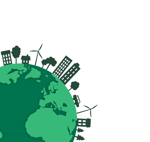 600x566 Green Eco Earth Vector Graphics My Free Photoshop World