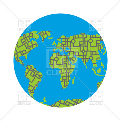 400x400 Urbanization Earth Vector Image Vector Artwork Of Icons And