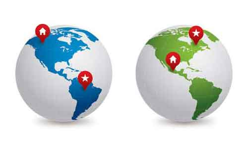 500x297 Vector Globe Graphics 30 Free Sets For Creating Modern Designs