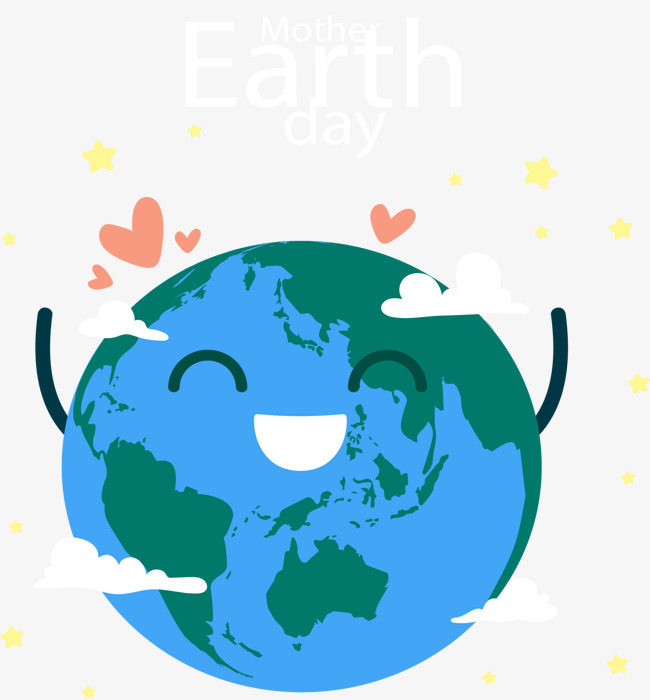 650x700 Cheering The Earth, Vector Material, Happy, Earth Cheers Png And