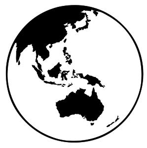298x300 496 Earth Globe Clip Art Vector Public Domain Vectors