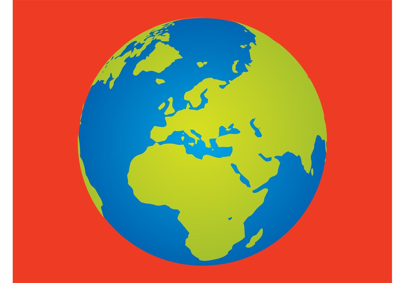 1400x980 Planet Earth Free Vector Art