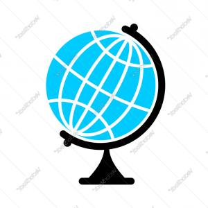 300x300 Globe Flat Icon Earth Ball Character Planet Earth Vector Rongholland