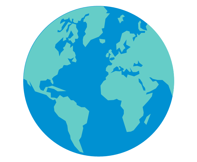640x527 Planet Earth Clipart Vector