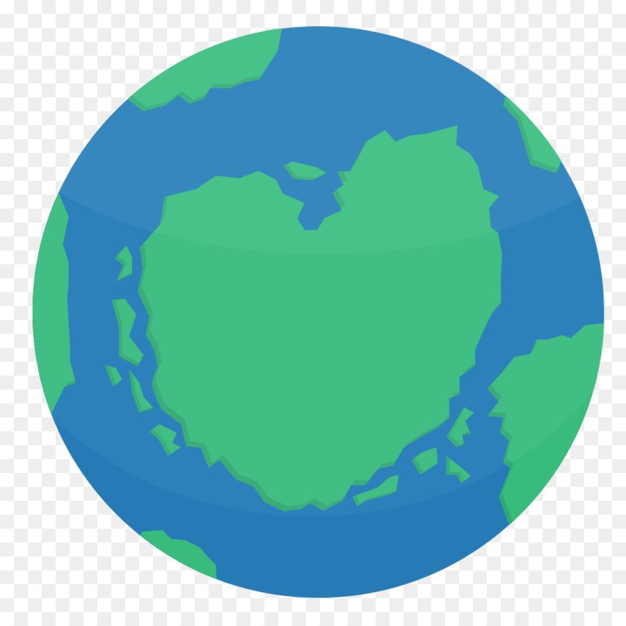 900x900 Earth Globe Flat Design Thepix