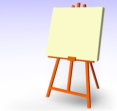 389x368 Free Vector Easel Free Vector Download (28 Free Vector) For