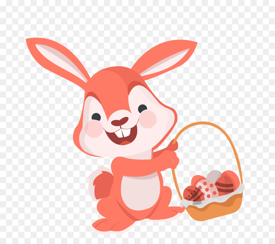 900x800 Download Easter Bunny Easter Egg Rabbit Vector Happy Bunny