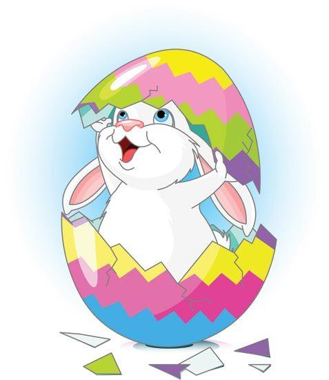 477x550 Easter Bunny And Eggs Vectors, Free Vector Download Bunny Bucks