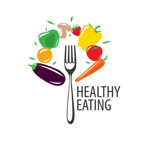 500x500 Healthy Eating Logo Design Vector Set 12 Free Download