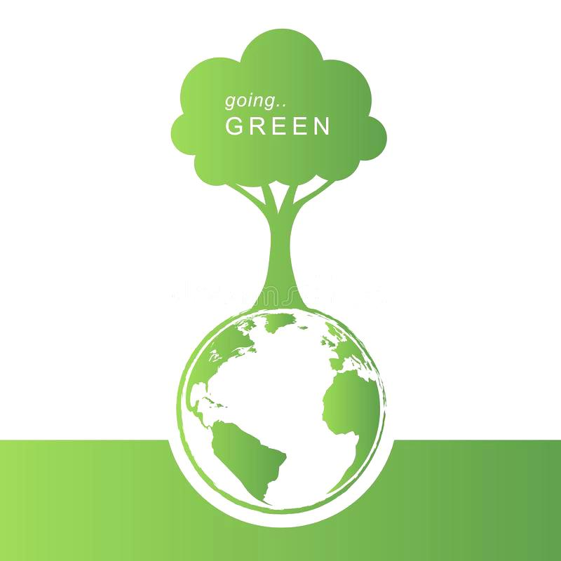 800x800 Green Eco Concept Download Green Concept Background Stock Vector