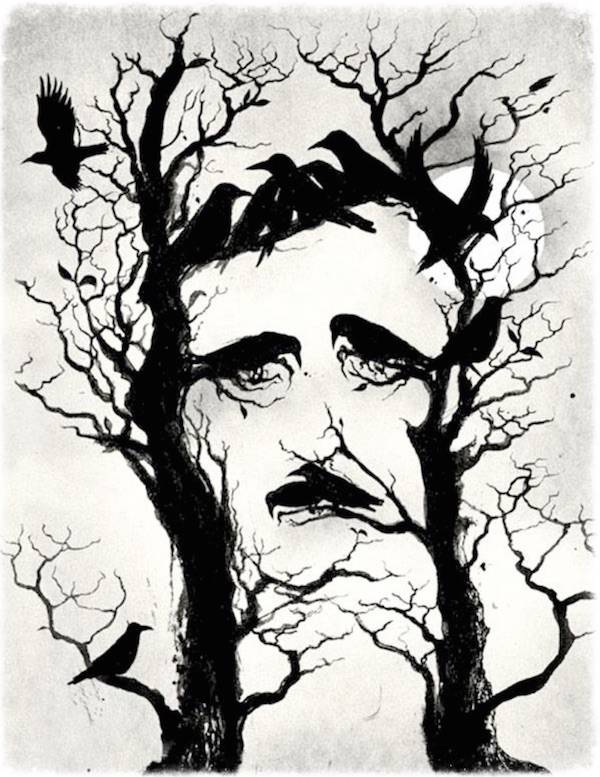 Edgar Allan Poe Vector