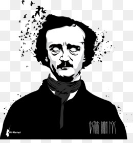 260x280 Edgar Allan Poe The Tell Tale Heart Ms. Found In A Bottle Clip Art