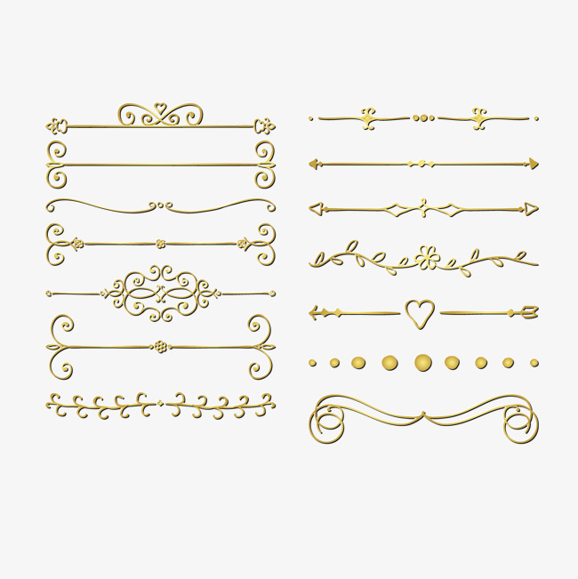 650x651 Vector Gold Pattern Edge, Gold Vector, Pattern Vector, Vector