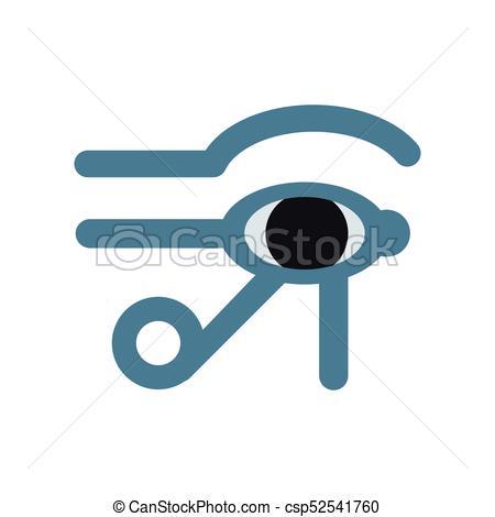 450x470 Eye Of Horus Egypt Deity, Eye Of Ra, Antique Egyptian Hieroglyphic