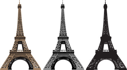 425x236 Eiffel Tower Free Vector Download (347 Free Vector) For Commercial