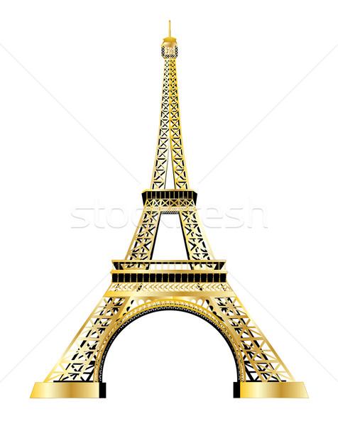 476x600 Eiffel Tower Vector Vector Illustration Jacek Lasa (Leonardo
