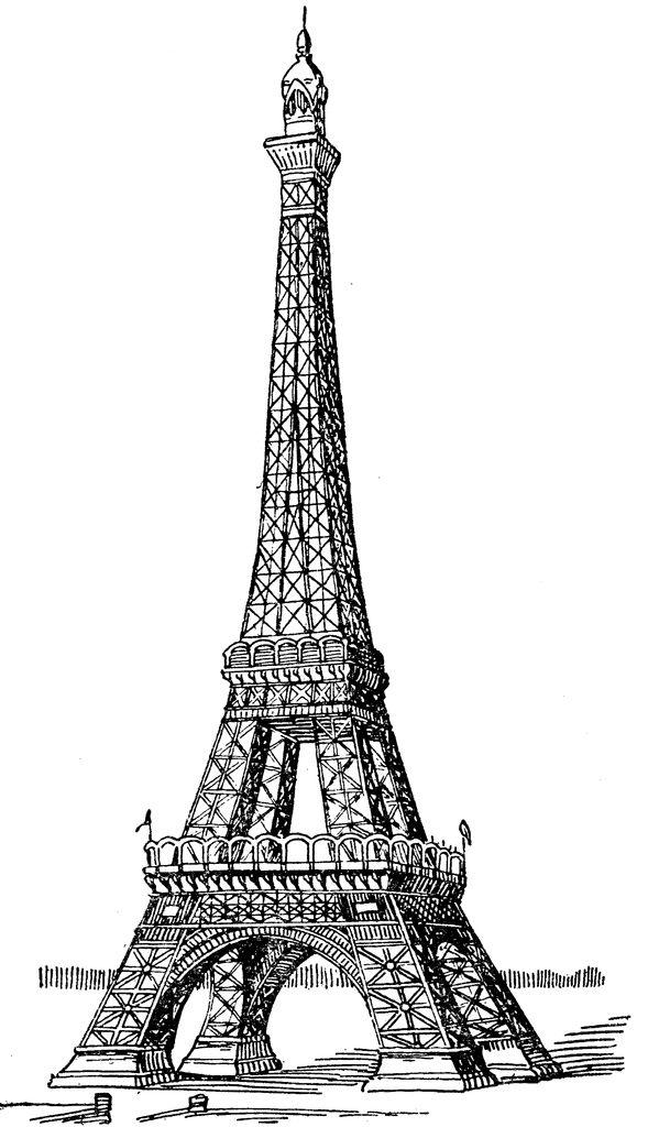 589x1024 Free Eiffel Tower Vector 51 Best Paris Clip Art Images On