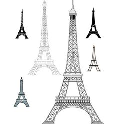 Eiffel Tower Vector Free
