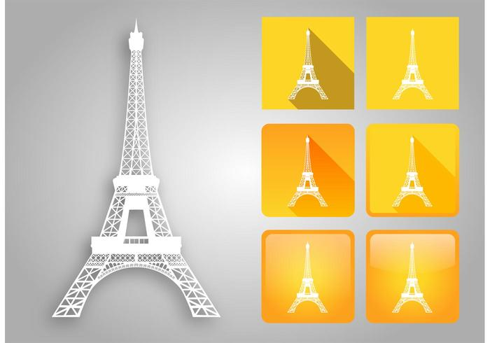 700x490 Eiffel Tower Vector Pack