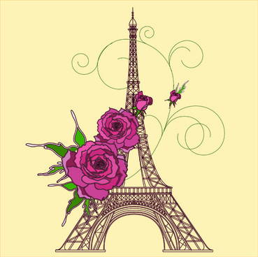 369x368 Eiffel Tower Free Vector Download (347 Free Vector) For Commercial