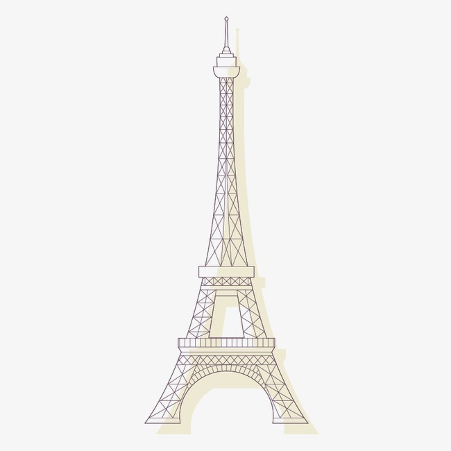 650x650 Vector Eiffel Tower, Paris Element, Eiffel Tower, Vector Paris Png