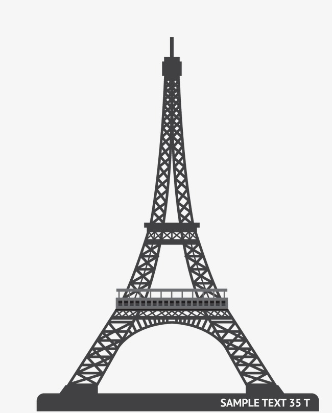 650x809 Eiffel Tower, Vector Architecture, Building Png And Vector For