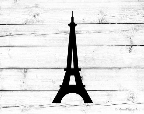 570x453 Eiffel Tower Svg Eiffel Tower Png Eiffel Tower Vector File Etsy