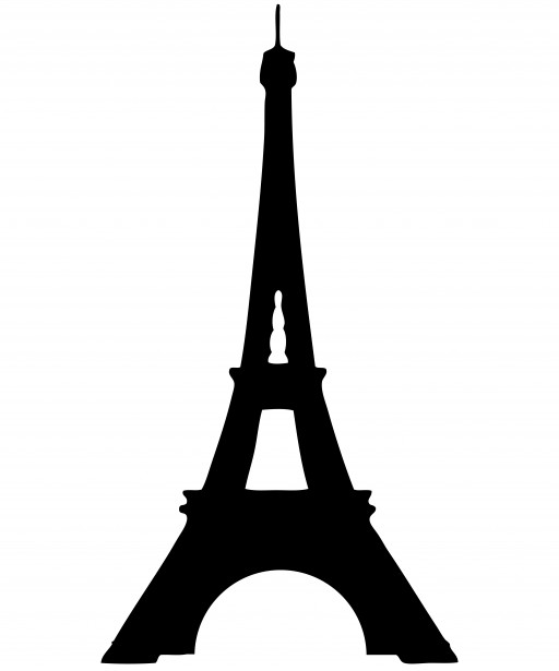 512x615 Free Eiffel Tower Vector Hand Painted Eiffel Tower Hand Painting
